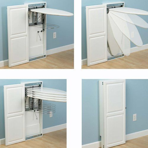Laundry Room Design Ironing Board Modular Wardrobes