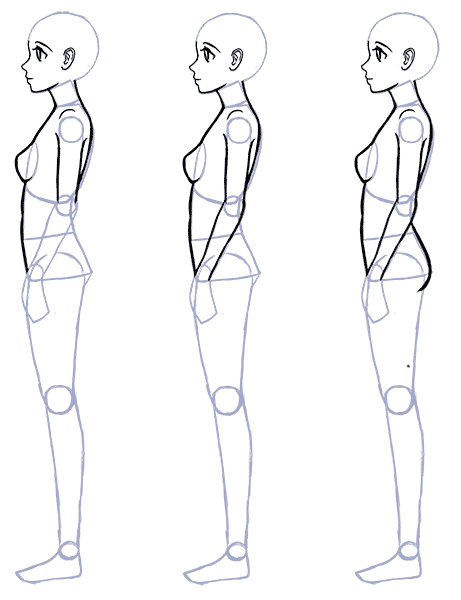 How To Draw Anime Side View Full Body Profile Manga Tuts Person Drawing Drawing Anime Bodies Anime Drawings