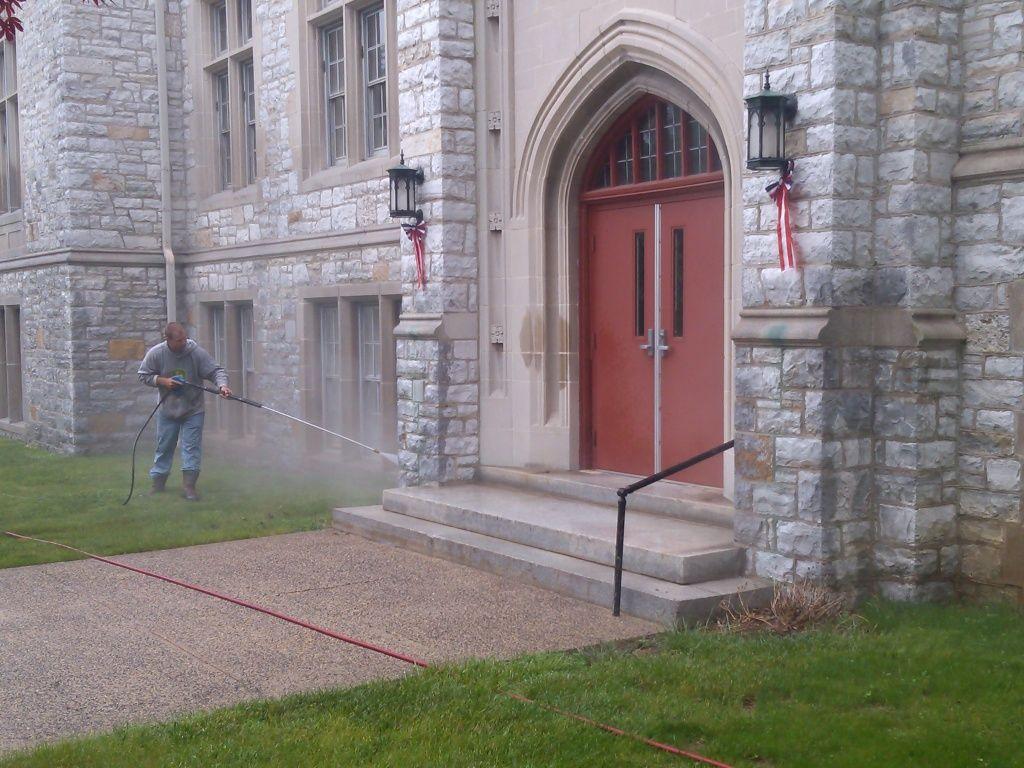 Stone Building Washing Chambersburg PA17201 - Blogs - Pressure Washing Institute