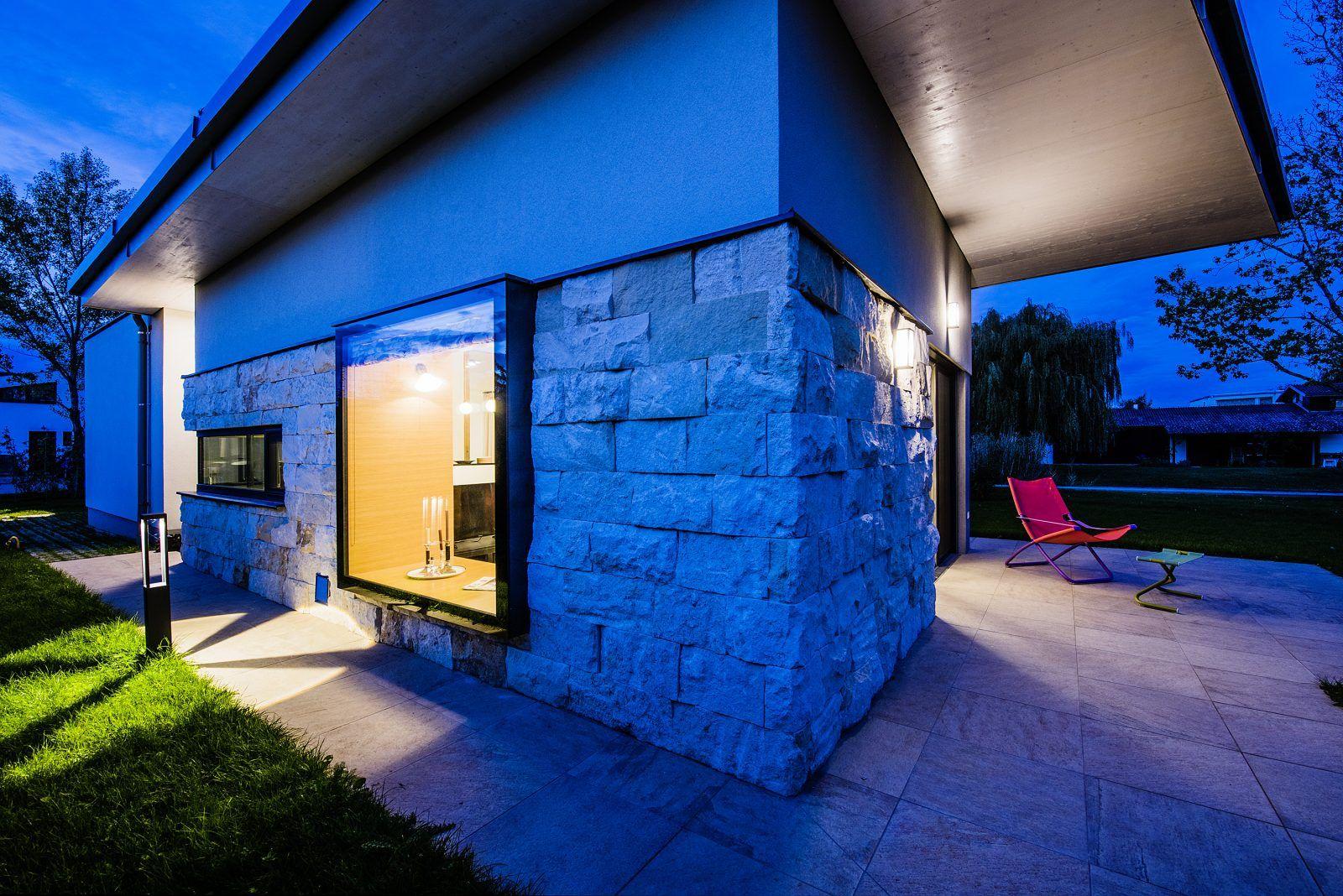 HAUS NE. | Schandl Architekten Sommerhaus Panoramafenster Ferienhaus ...