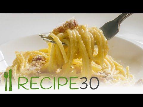 Spaghetti Carbonara The Authentic Italian Pasta Recipe By Recipe