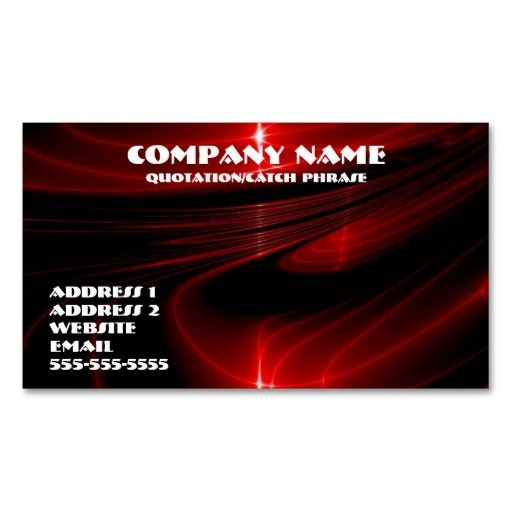 Red graphics business card   Zazzle.com   Business cards ...