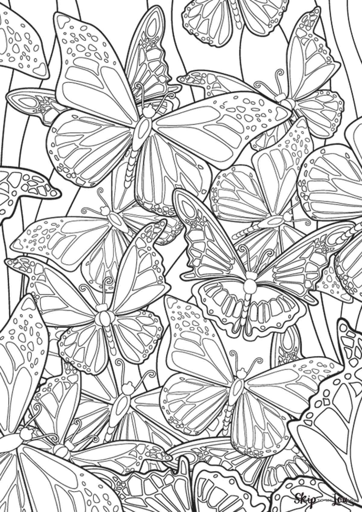 Free Printable Butterfly Coloring Page Butterfly Coloring Page Mandala Coloring Pages Free Coloring Pages