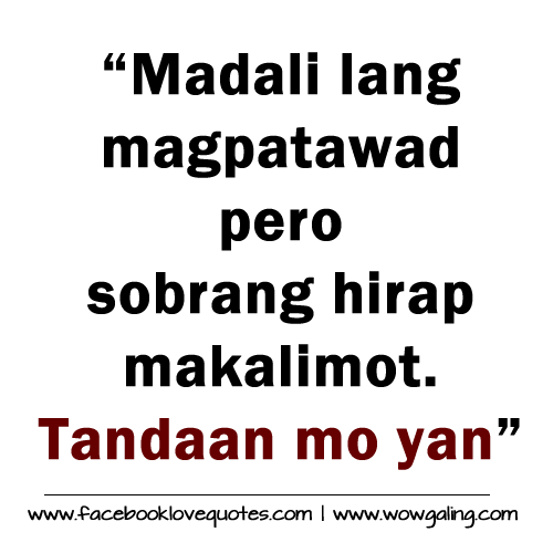 Pacute.com - Tagalog Love Quotes Collections Online ...