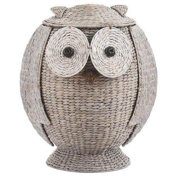 Owl Hamper 825 Gtq Liked On Polyvore Featuring Home