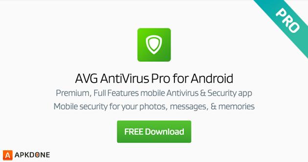 New APK: AVG AntiVirus PRO Android Security 6 22 2 (Full +
