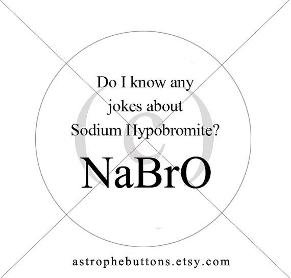 Items Similar To Chemistry Joke/Pun Button   Inner Nerd   Science On Etsy