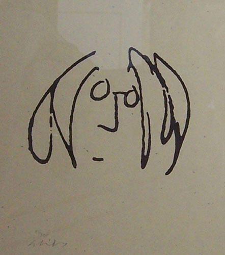 Famous Musicians Fascinating Self Portraits Beatles Tattoos John Lennon Famous Musicians