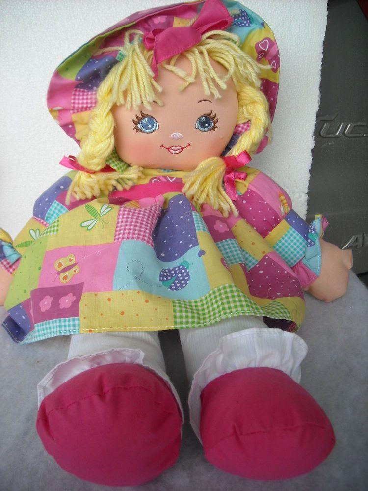 "1995 Vintage Sweetie Mine Well Made Toy Doll Blue Eyes Blonde Hair Braids Sz 20/"""