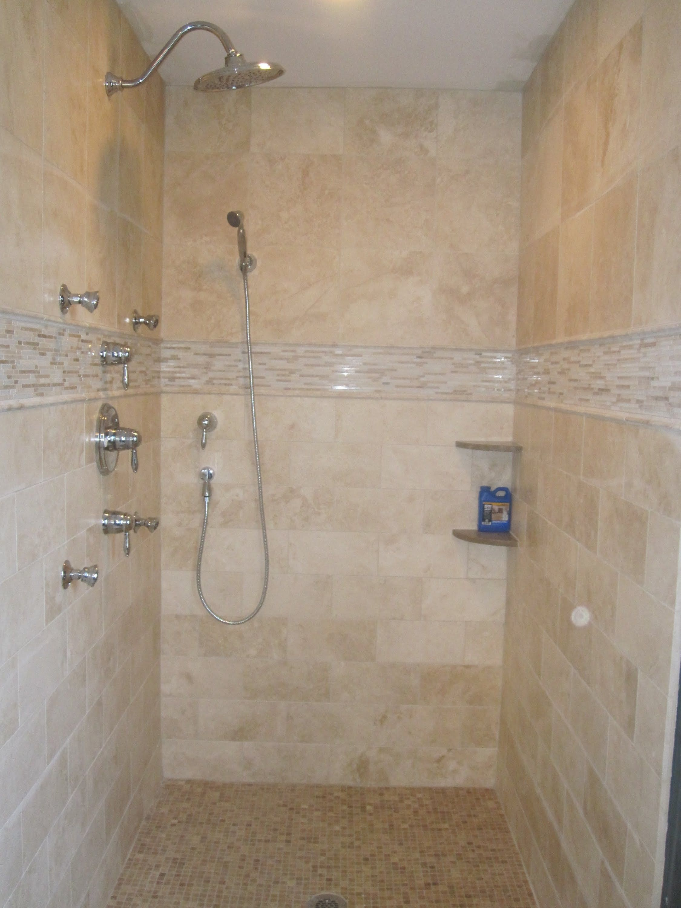Travertine Tub Surround Travertine Bathroom Floor Tiles Travertine
