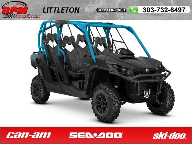2016 Can Am Commander Max Xt 1000 Matte Black Octane Blue Rpm Motorsports Littleton Can Am Commander Can Am Cdr