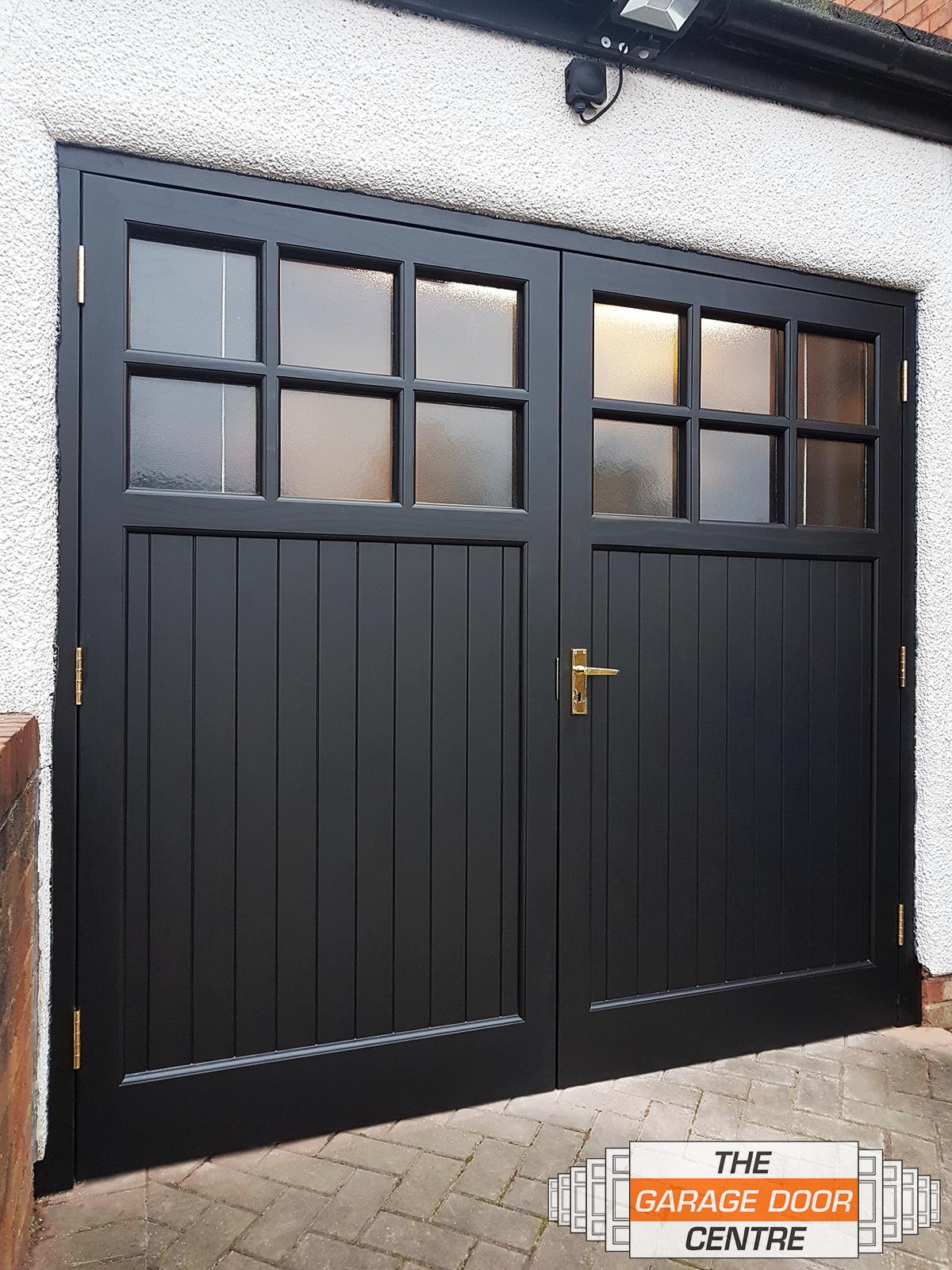 Woodrite Side Hinged Garage Door In 2020 Side Hinged Garage Doors Garage Doors Wooden Garage Doors