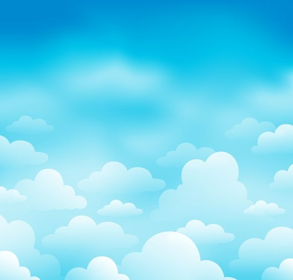 white clouds with blue sky vector background 04 beach scene clip art images beach scene clip art free