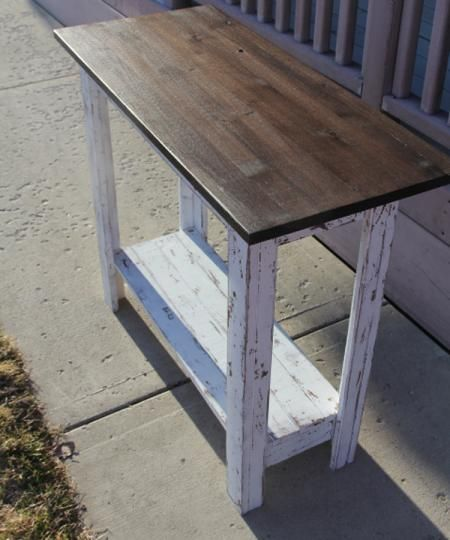 Do It Yourself Furniture: Simplest Console (first Furniture Project)