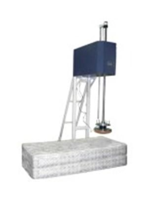 Bedding Impact Tester The Bedding Impact Tester has been designed and manufactured to perform various tests and evaluations of innerspring and boxspring mattresses, as well as foam mattresses, chairs, cushions and other similar products