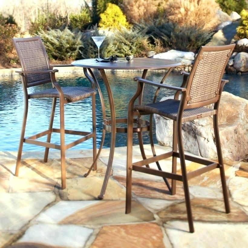 Ever Beautiful Counter Height Outdoor Table And Chairs Bistro Table Outdoor Patio Table Set Outdoor Patio Furniture Sets Outdoor high table and chairs