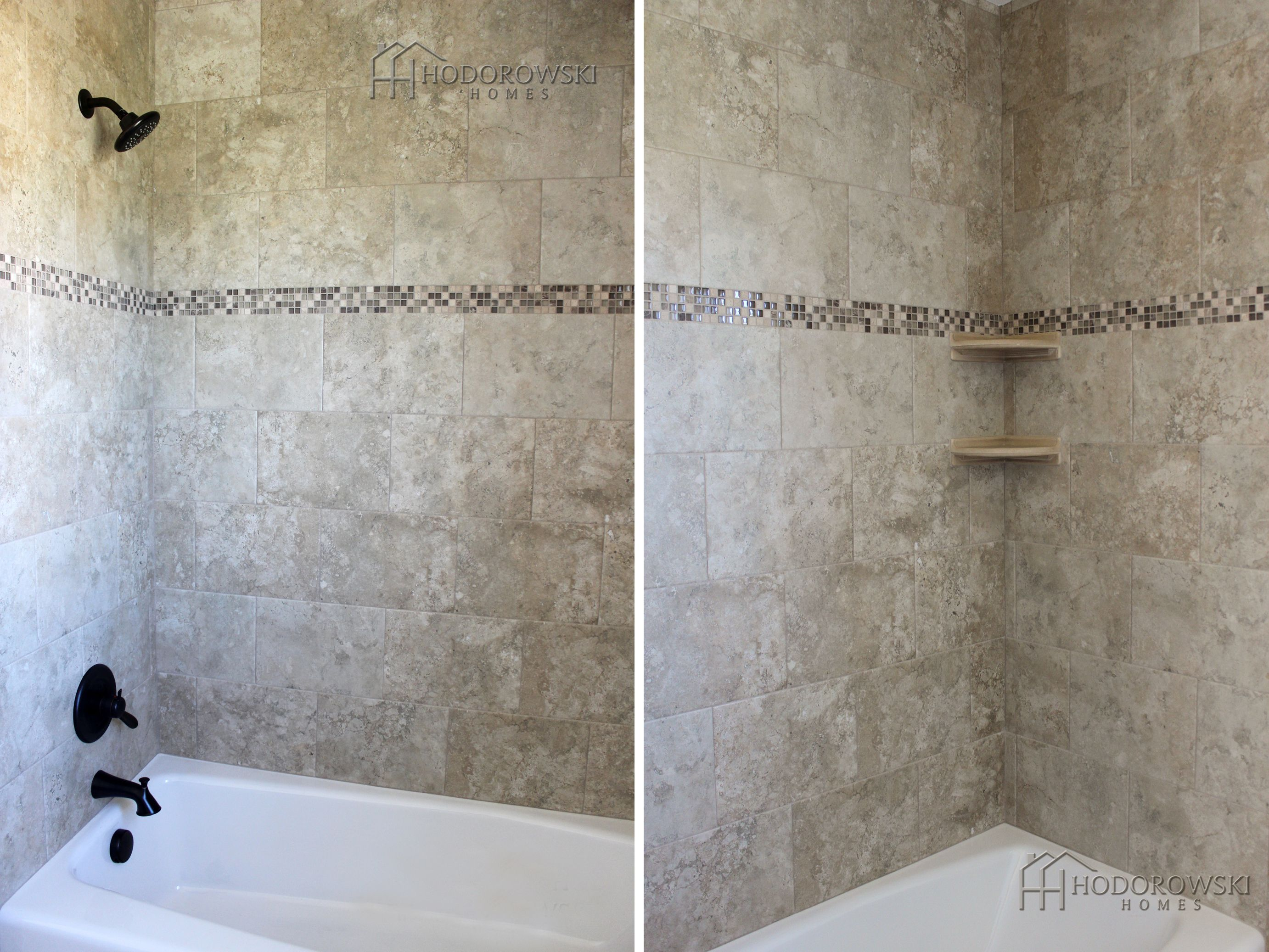 Instead Of Straight Vertically Laid Tile, Go For A Contemporary Look With  Staggered Or