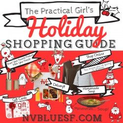 Custom Holiday Shopping Guide Infographic with multiple versions created for Mailchimp campaign, website, and social media including Instagram. Graphi