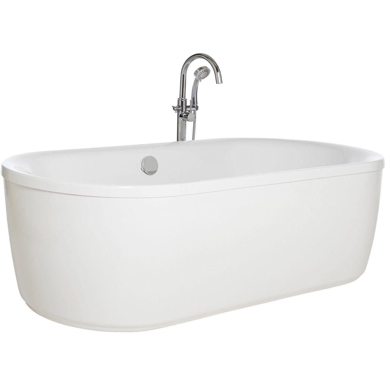 Liegeflache Und Mittiger Abfluss Ermoglichen Ein Bad Zu Zweit