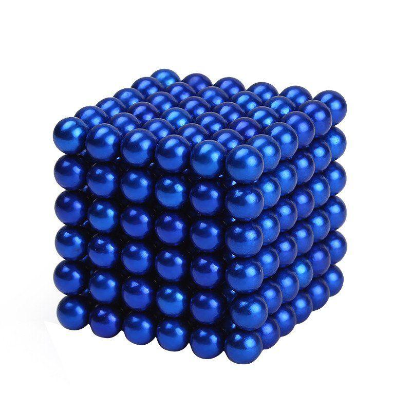 216 Unids/set Esferas Bolas Magnéticas Beads Cubo Mágico Imanes Rompecabezas Regalo de Cumpleaños la Decoración Del Hogar
