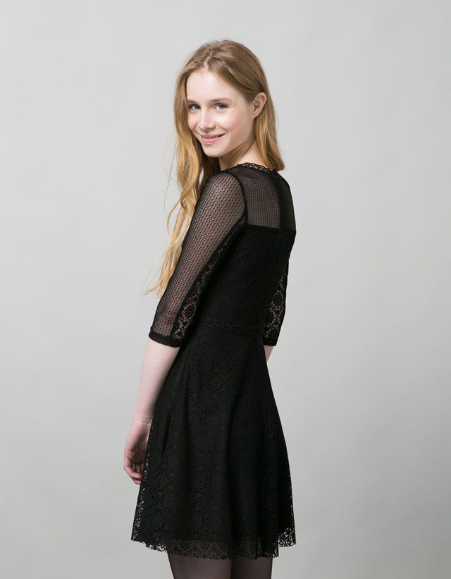 Robes et salopettes - BERSHKA - Woman - Bershka France | Bershka, Vestidos