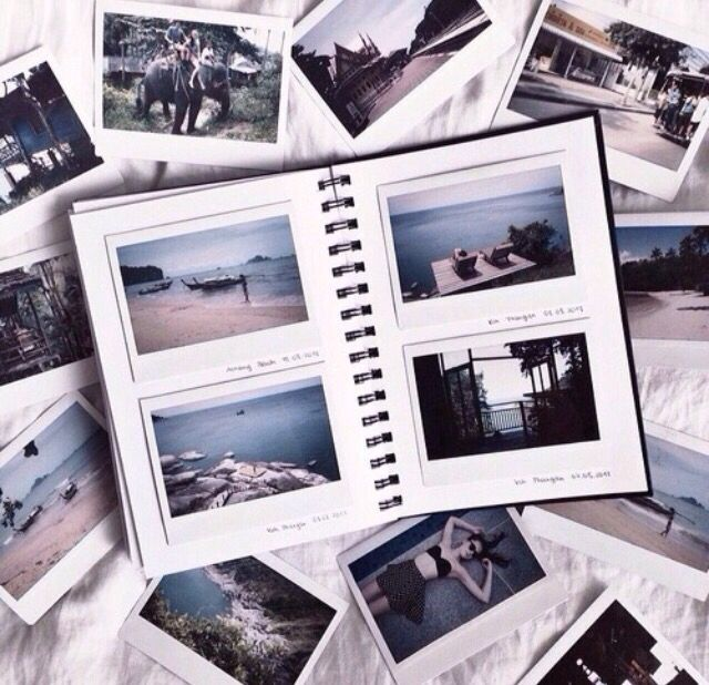 Photo of I want an album that will hold, soon, the 3 different size Polaroids I will be s…