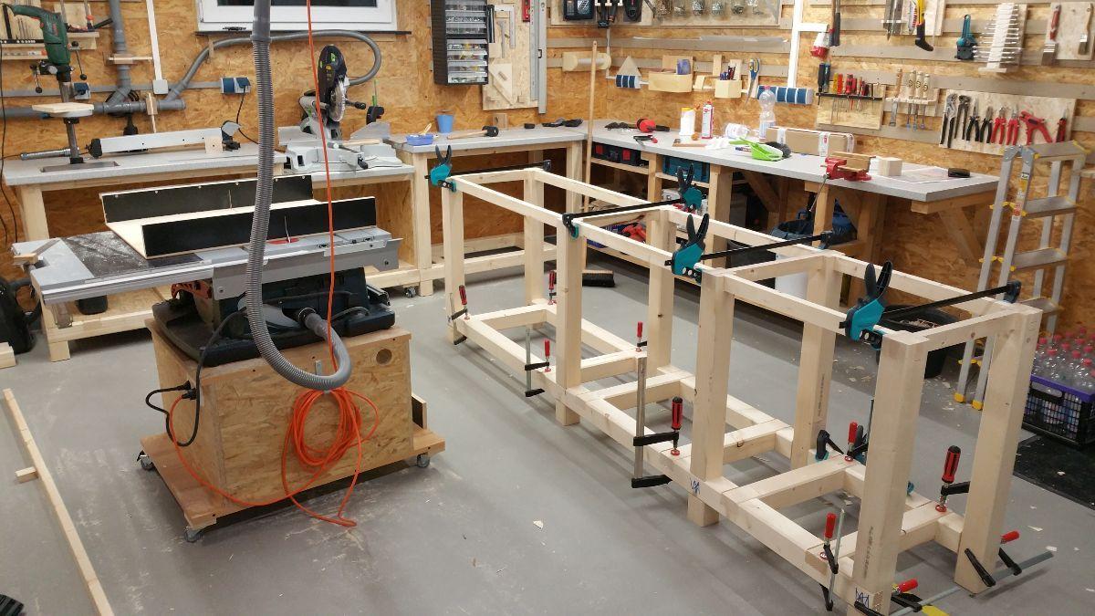 Meine Werkstatt Heimwerker Helden De Werkstatt Werkstatt Aufbau Heimwerken