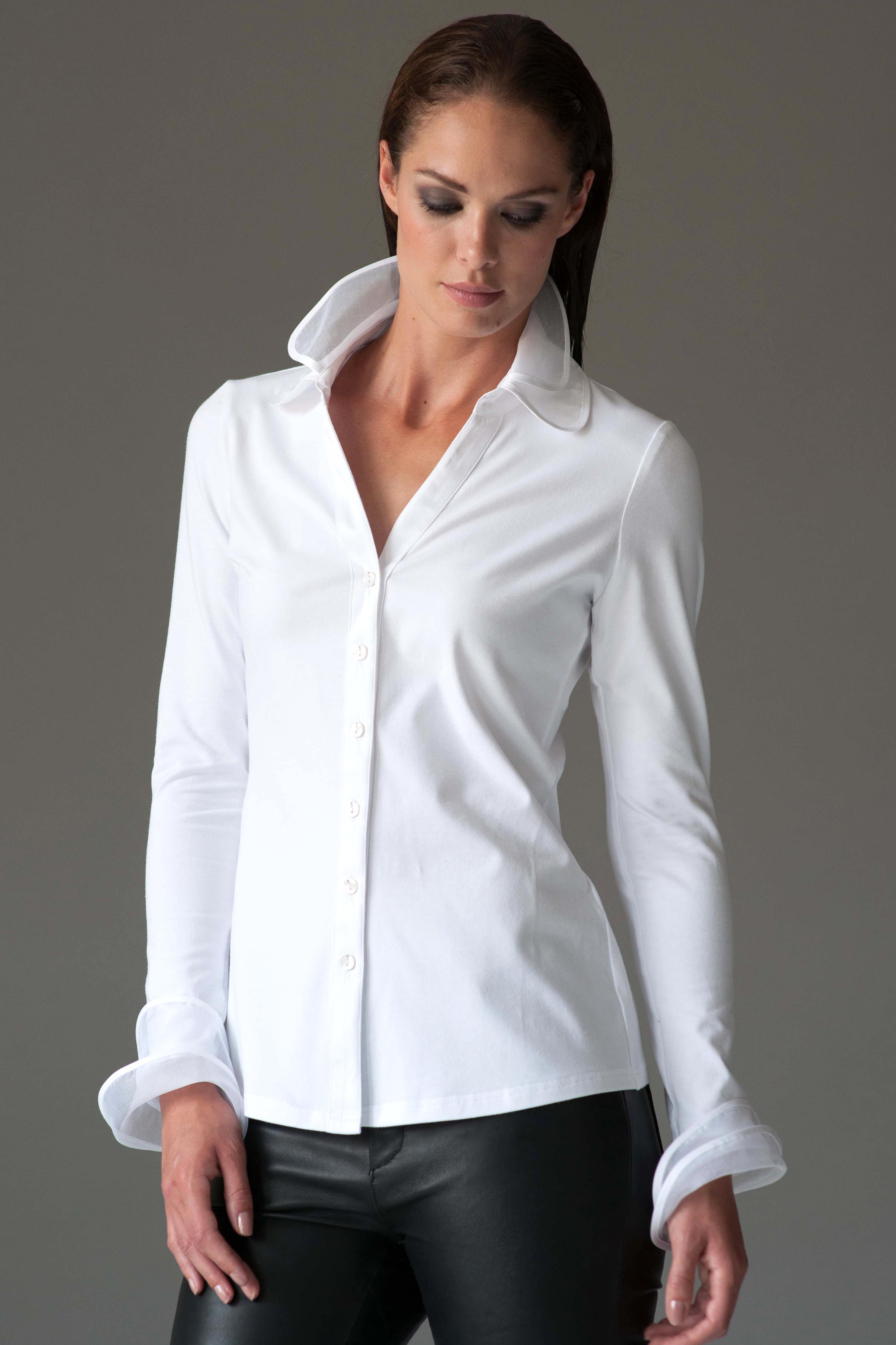 1620bdc3cc2 The Shirt Company  the perfect white shirt for women