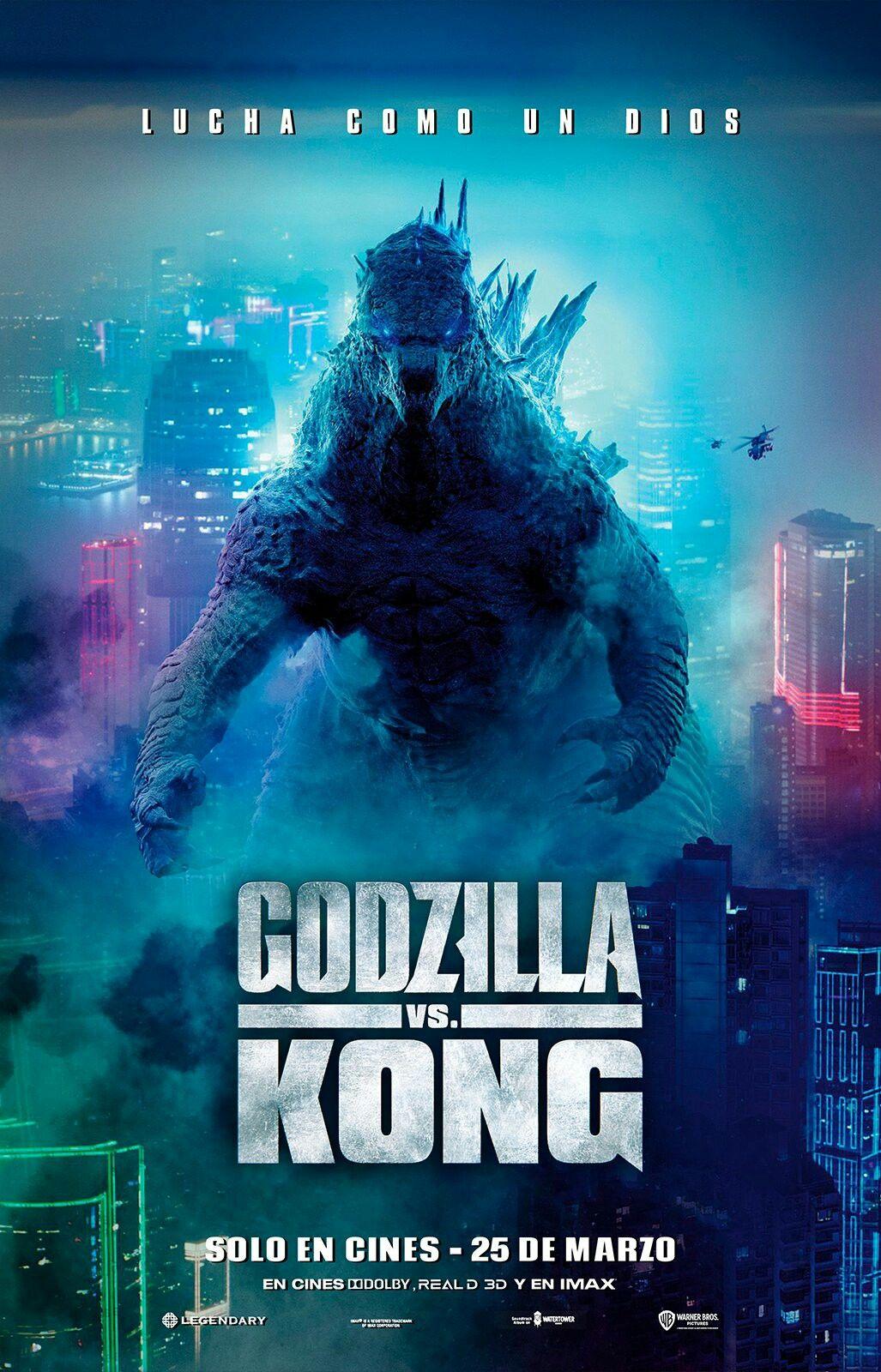 Godzilla Vs Kong Teaser En Espanol En 2021 Arte De Comics Godzilla Solo En Cines