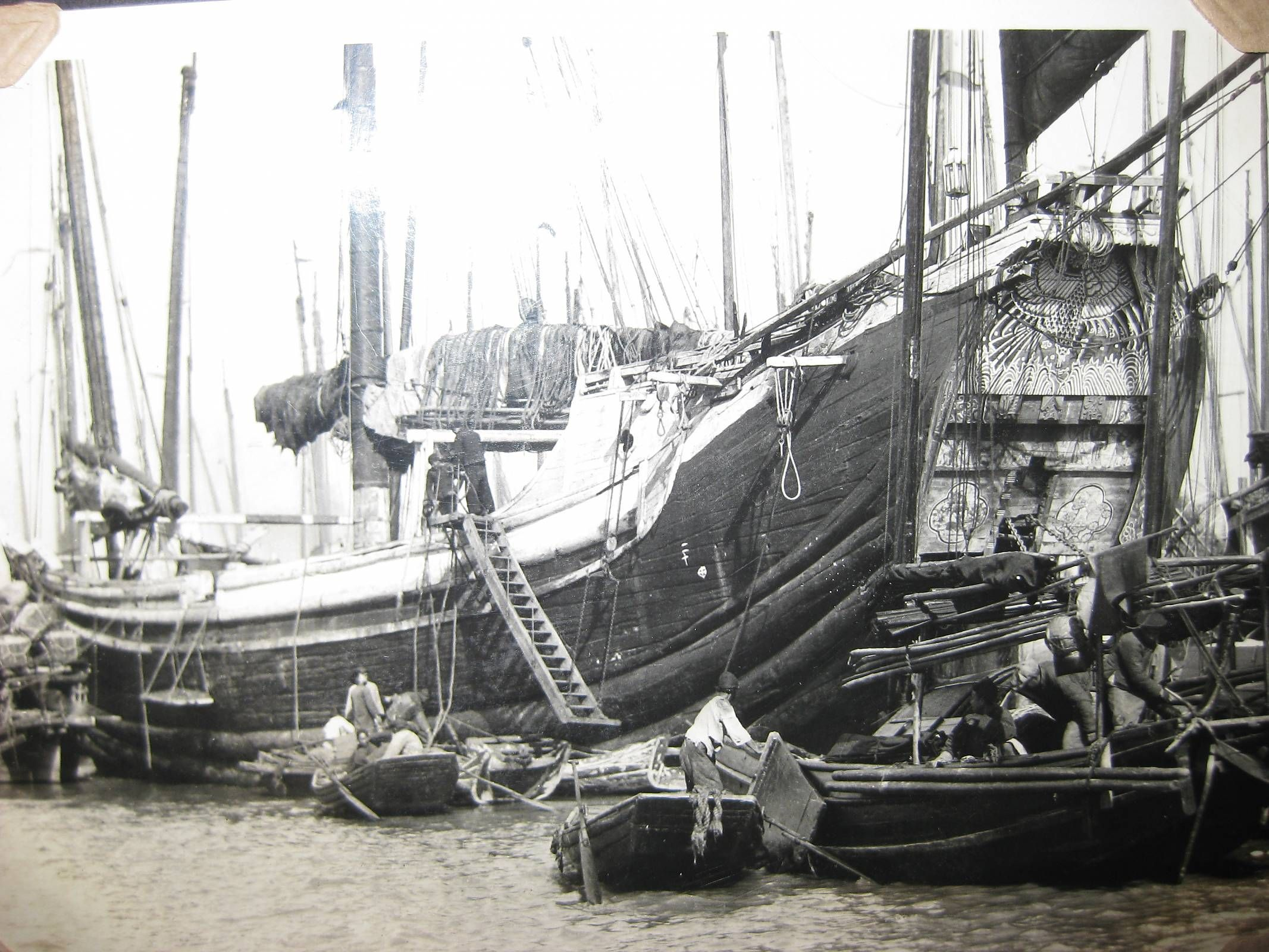 Pin by Vern Rowe on CHINESE JUNK BOATS | Junk ship, Hull ...