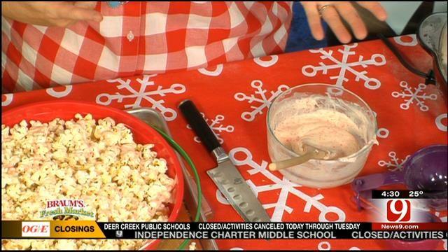 Peppermint Popcorn - News9.com - Oklahoma City, OK - News, Weather, Video and Sports |