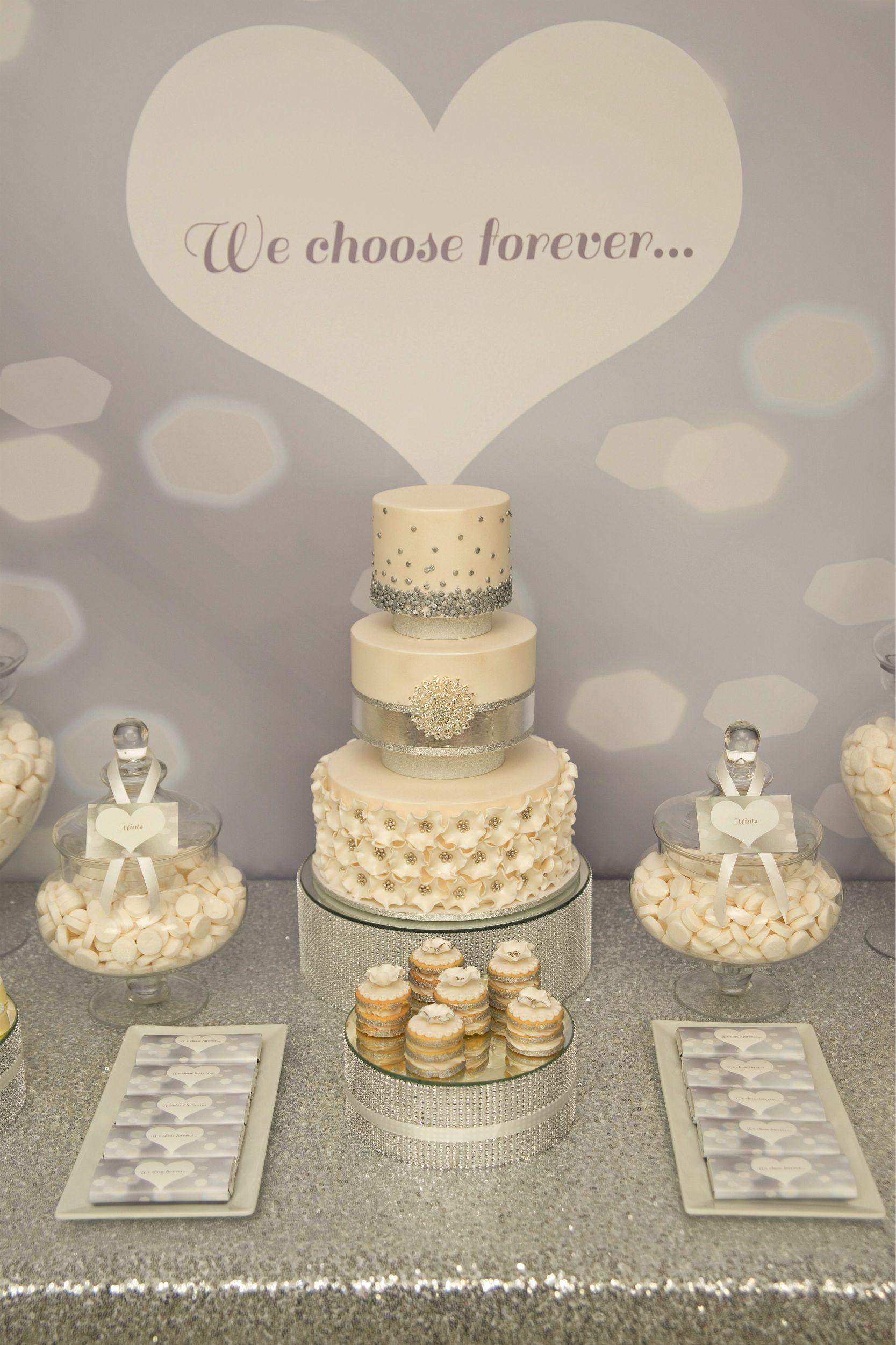We this moncheribridals weddingcake weddingdesserttable