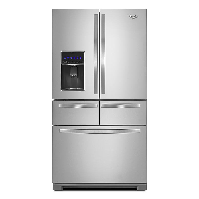 Whirlpool - WRV986FDEM - WRV986FDEM 26 cu. ft. French Door Bottom Freezer Refrigerator - Stainless Steel | Sears Outlet