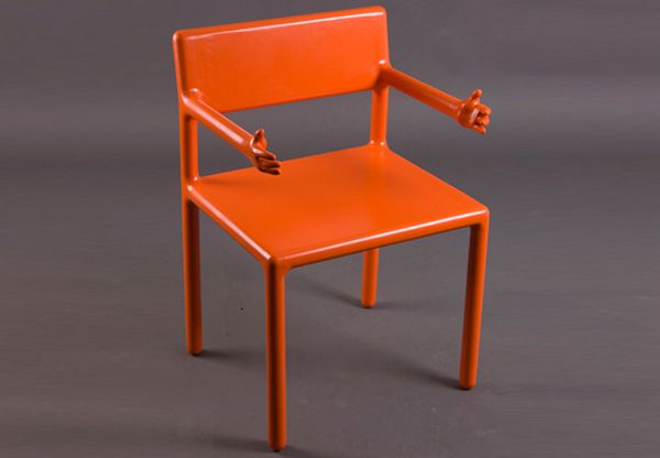 Funny! Welcoming Arms Chair by Oleksandr Shestakovych