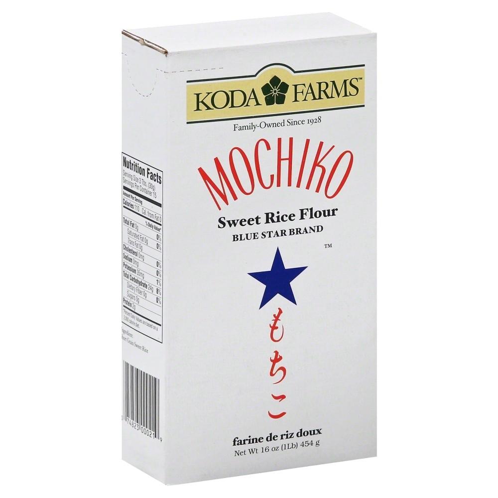 Koda Farms Mochiko Sweet Rice Flour 16 Oz Rice Flour Mochiko Flour