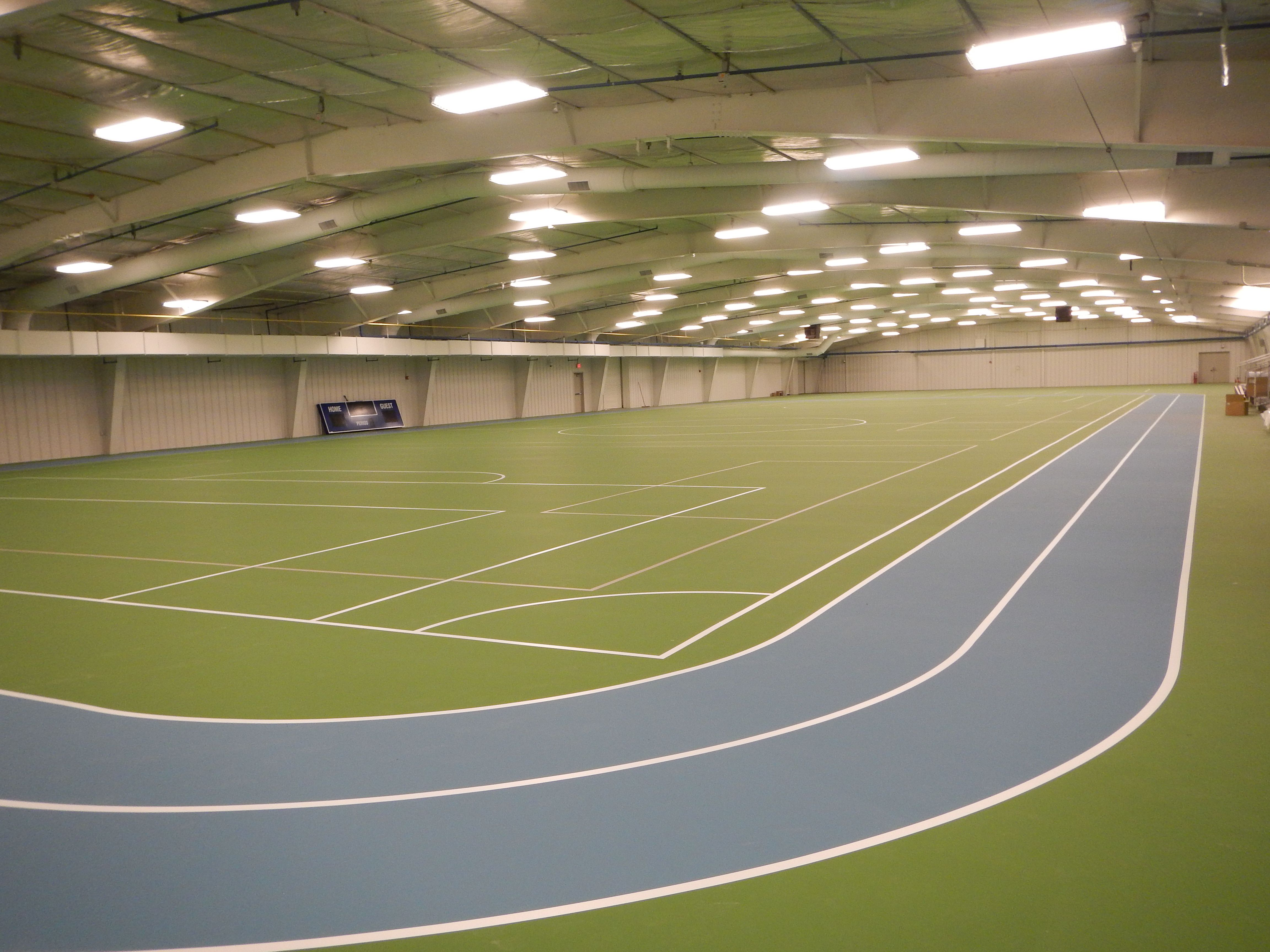 Arena 1 is an athletic exercise and multipurpose area