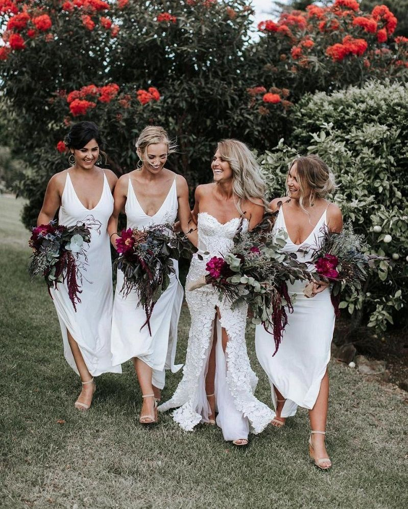 44 Long Bridesmaid Dresses That You Will Absolutely Love
