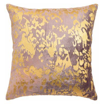 Blissliving Home Aya Metallic Print Decorative Pillow - 15805018X018MUL