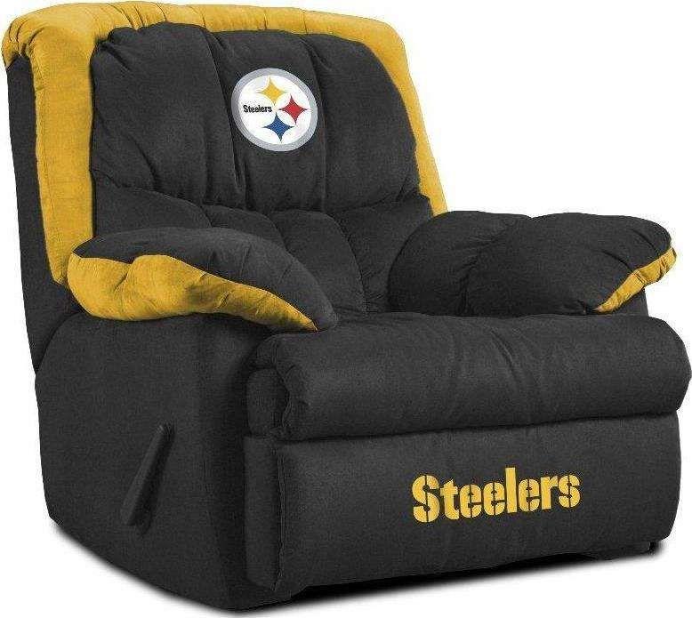 Pittsburgh Steelers Bedroom Set | Pittsburgh Steelers Home Team Recliner