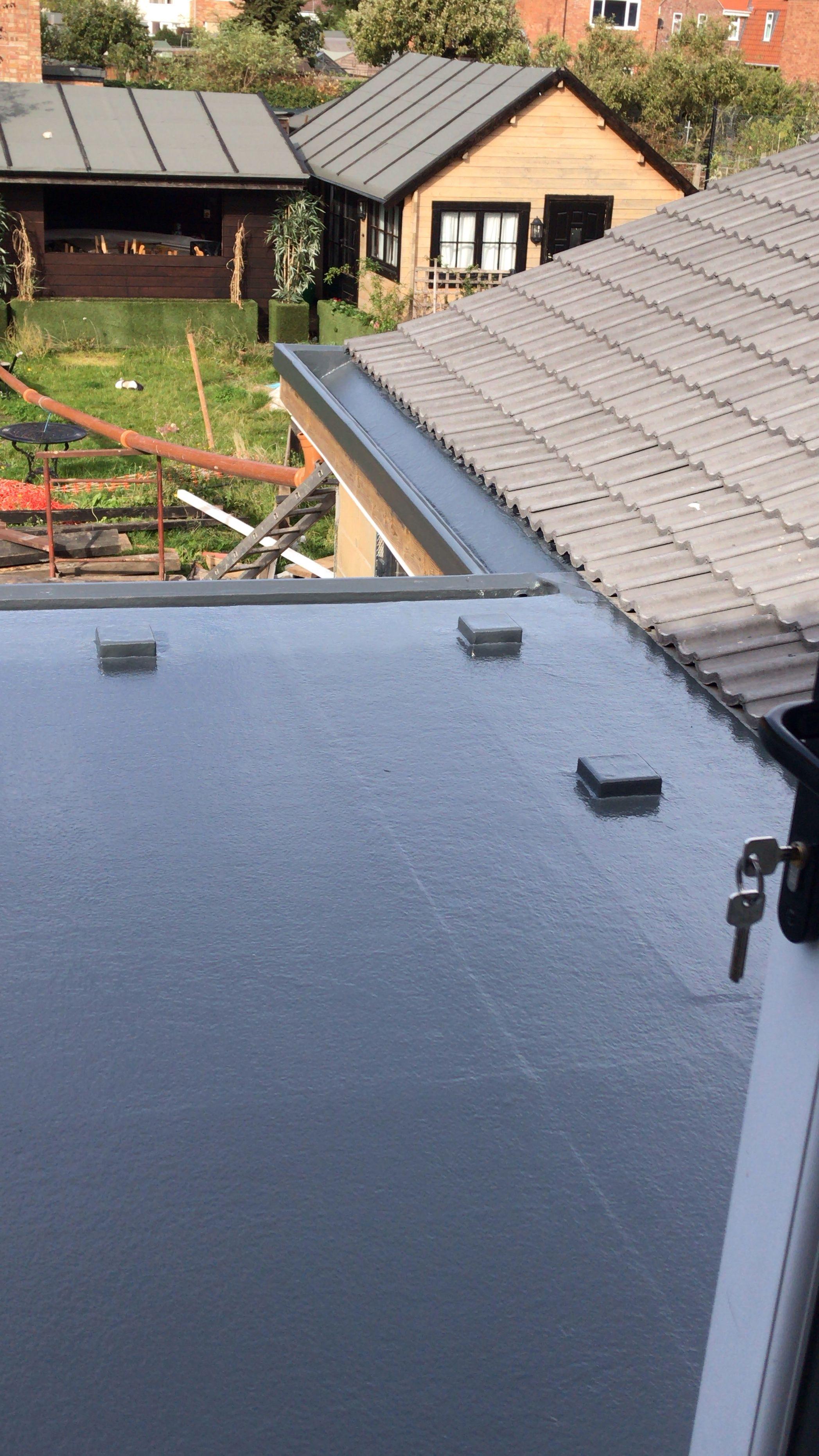 Grp Fibreglass Flat Roof Terrace In 2020 Fibreglass Roof Flat Roof Fibreglass Flat Roof