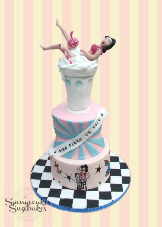 Miss Pinup Uk Winners Cake