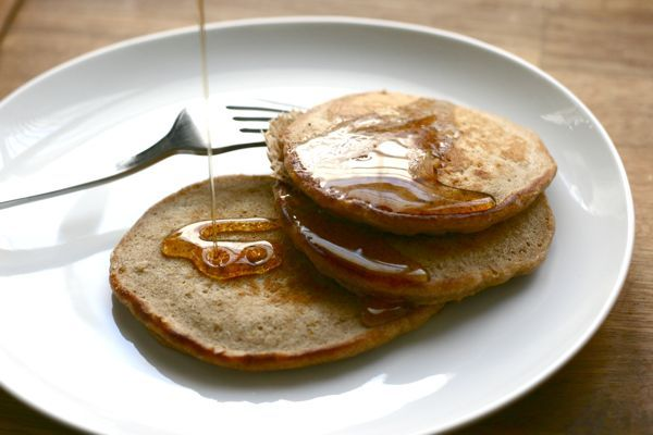 Orange, Cinnamon & Oat Pancakes