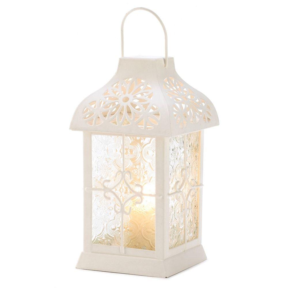 Gazebo Daisy Candle Lantern (Glass) | Candle lanterns, Outlet store ...
