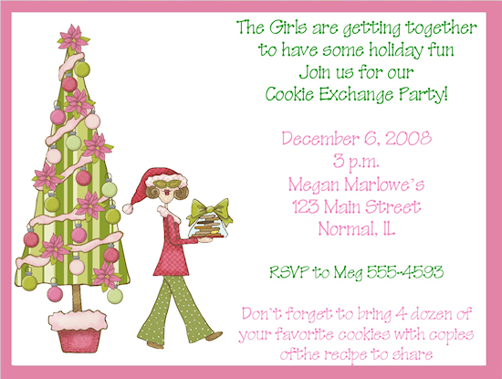Holiday cookie exchange invitations cookie exchange invitations holiday cookie exchange invitations cookie exchange invitations expressions paperie grab your girlfriends and invite pronofoot35fo Choice Image