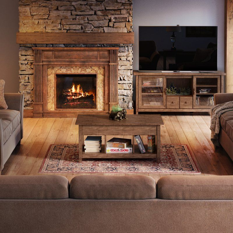 20 Living Room Layouts With Fire Places