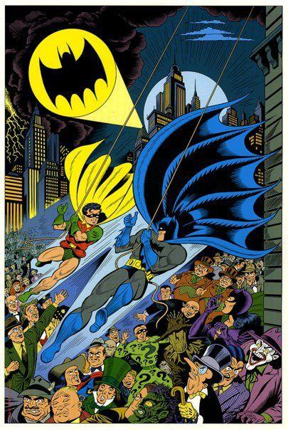 Batman by Dick Sprang