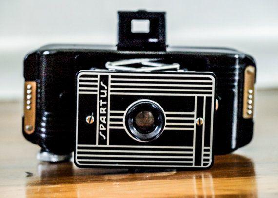 Vintage Spartus Folding Camera, Retro Camera on Etsy, $35.00