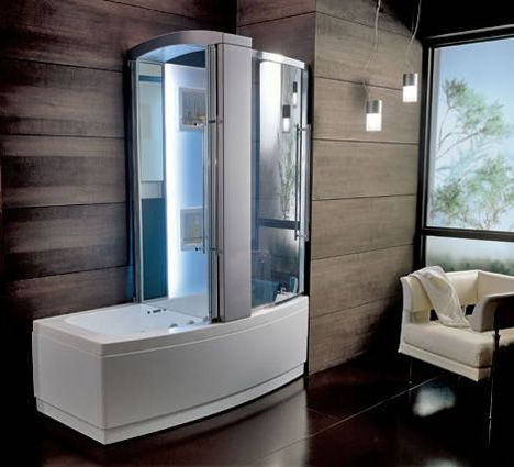 New Teuco Hydrosonic Hydroshower Sharade A Bathtub And Shower Combination Unit