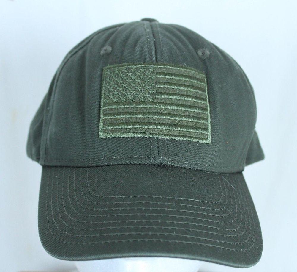 54b03718aa0f7 US Flag OD Green Rapdom Tactical Gear Ball Cap Trucker Hat Adjustable   RapdomTacticalGear  BaseballCap