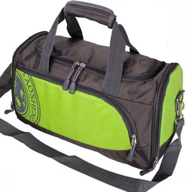 87f1aee686cb YUETOR 25L Nylon Outdoor Male Yoga Duffel Bag Professional Men And ...
